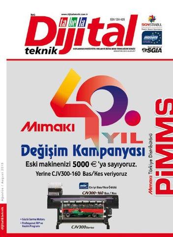 """c5c17a479ee1c editör'den Hayırlı fuarlar Dijital Tabela Teknik Dergisi'nin ana basın  sponsoru olduğu ve dünya markalarının, """"Dijital Baskı, Tekstil Baskı, ..."""