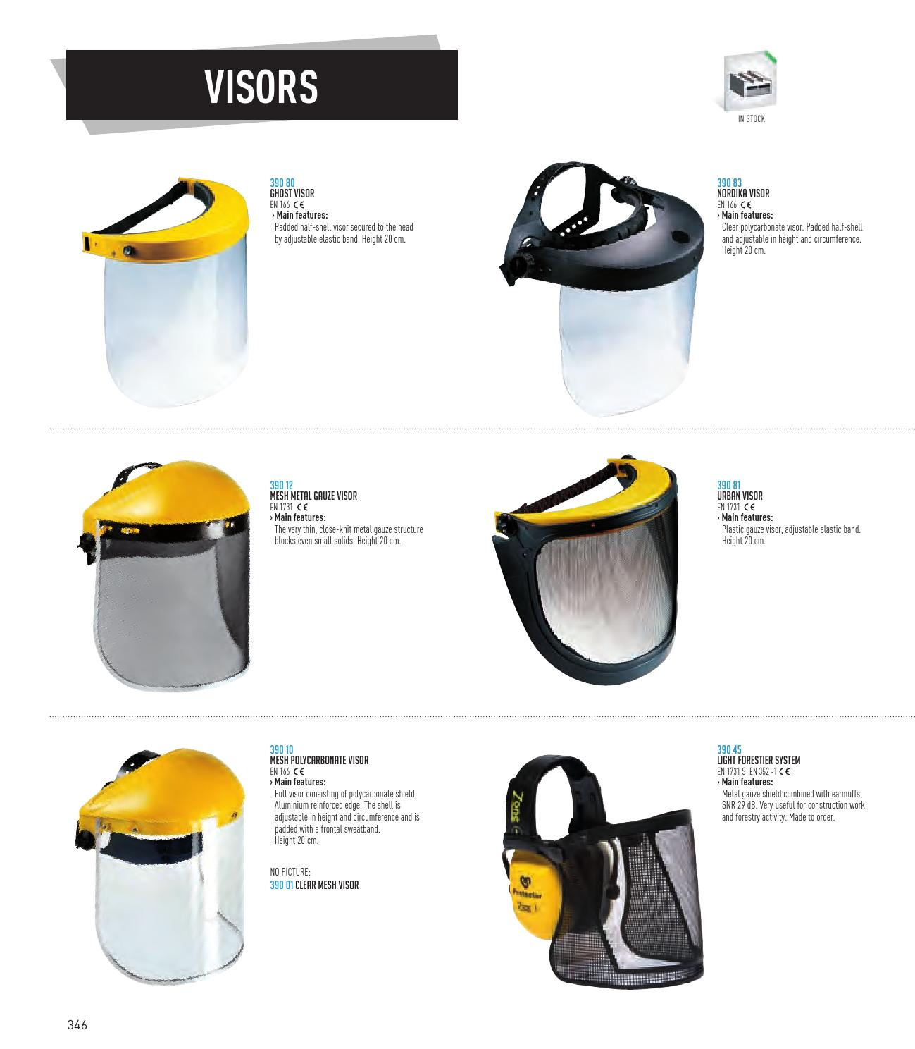 General Catalogue 2015 2019 By Sir Safety System Spa Issuu Visor 311 Clear