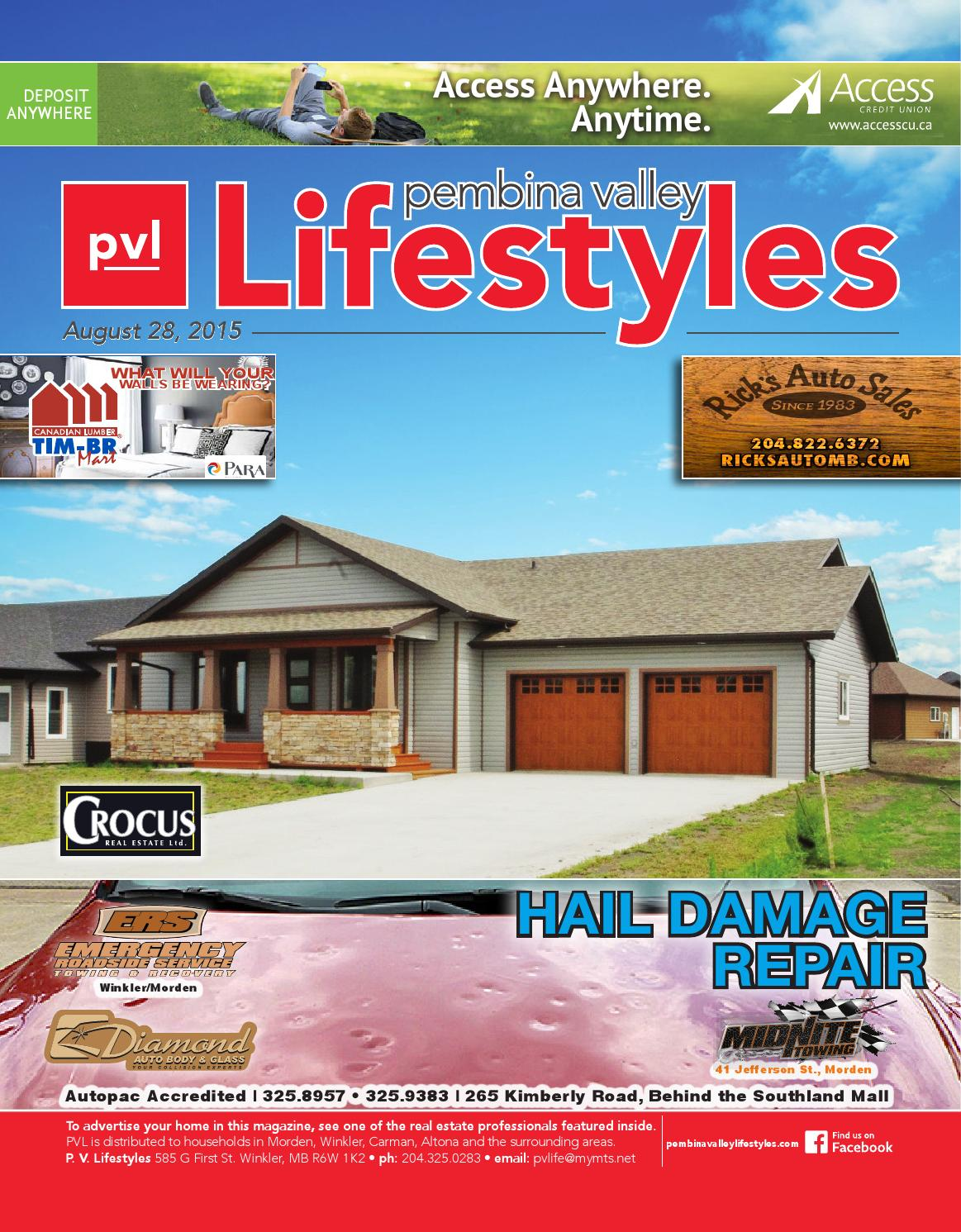 Lifestyles - Aug 28, 2015 by Pembina Valley Lifestyles - issuu