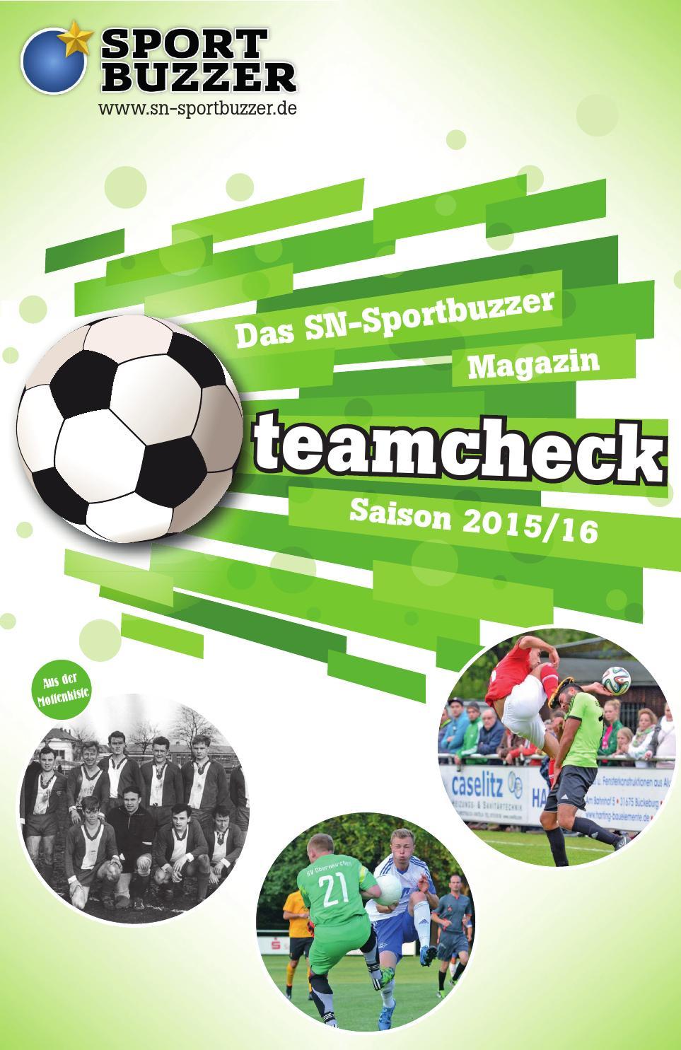 Teamcheck - Das SN-Sportbuzzer Magazin by Schaumburger Nachrichten ...