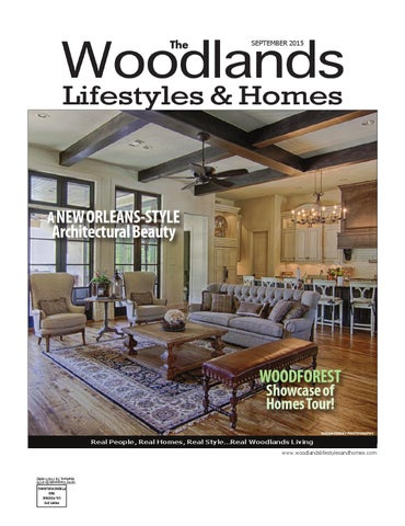 cf6226a0c The Woodlands Lifestyles & Homes September 2015 by Lifestyles ...