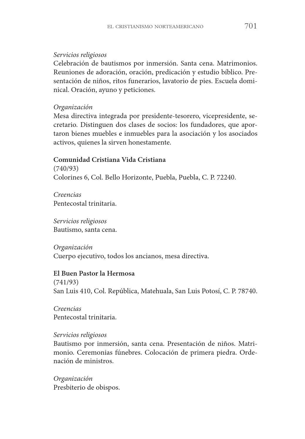 Enciclopedia de religiones en México 3era parte by Universidad ...