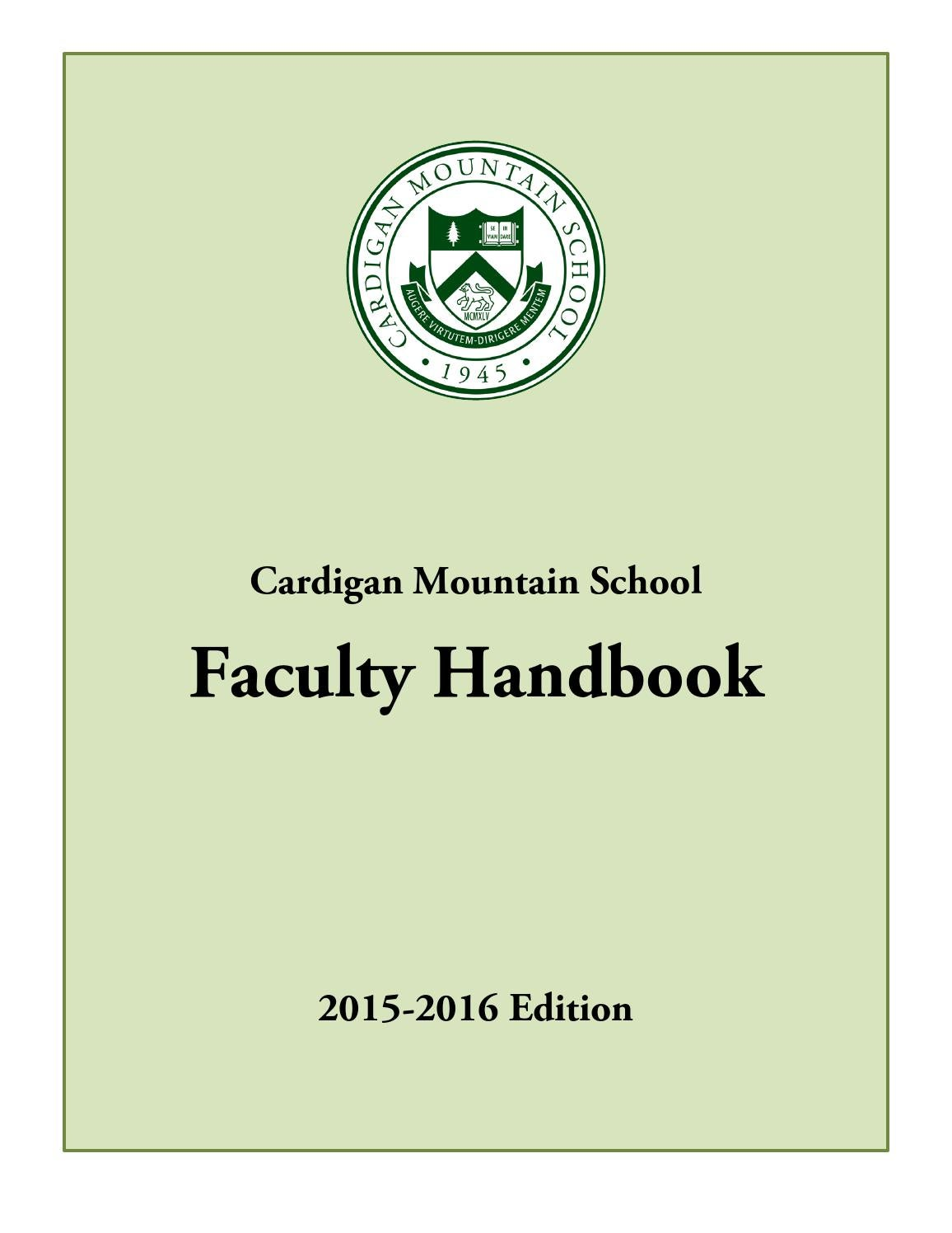 Faculty handbook for cardigan mountain school by cardigan mountain faculty handbook for cardigan mountain school by cardigan mountain school issuu fandeluxe Gallery
