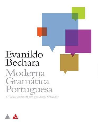 6cd373a5b2 Moderna gramatica portuguesa evanildo bechara parte1 by Faculdade ...