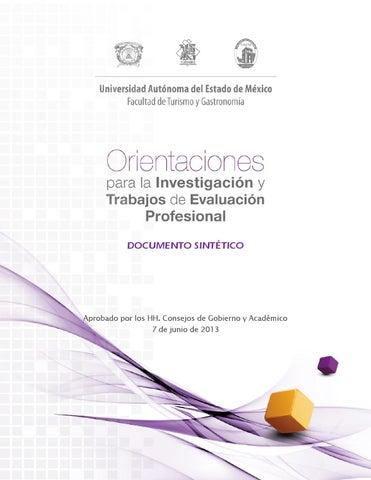 Orientaciones Para La Investigación Y Trabajos De Evaluación