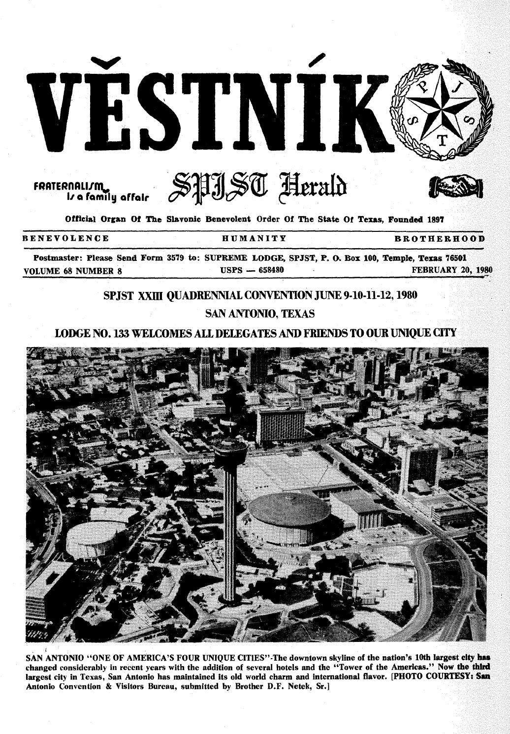 Vestnik 1980 02 20 by SPJST - issuu