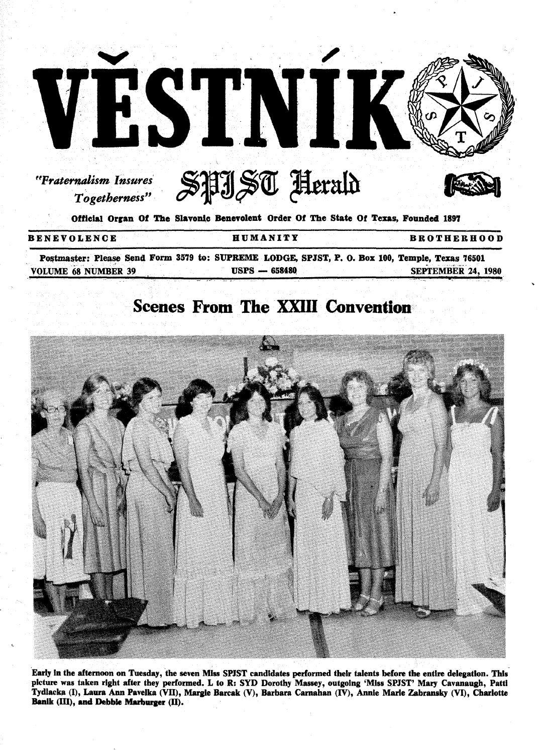 Vestnik 1980 09 24 by SPJST - issuu