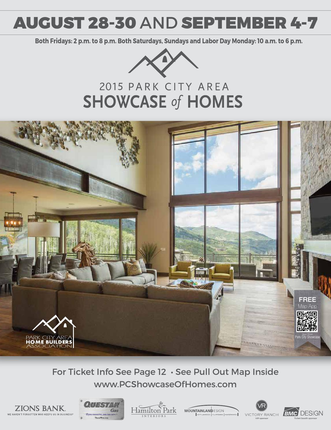 2015 Park City Area Showcase Of Homes By Utah Media Group