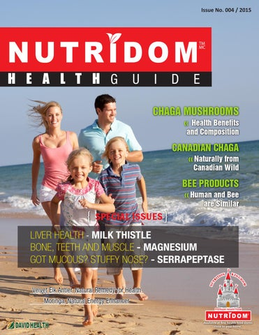 Nutridom booklet issue4 sep 2015 by Davidhealth - issuu