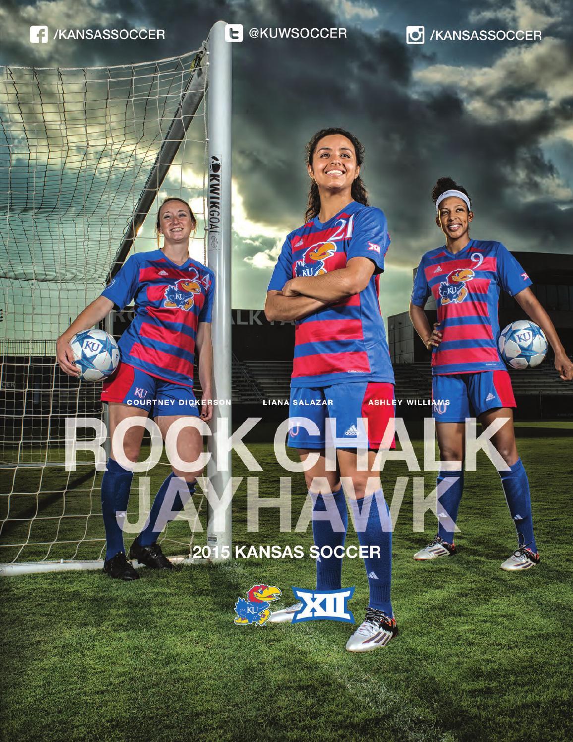 2015 Kansas Soccer Media Guide by Kansas Jayhawks - issuu e2e7d86a4