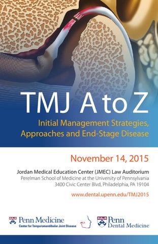 TMJ A to Z: Initial Management Strategies, Approaches and