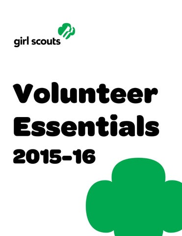 girl scouts articles or blog posts of incorporation