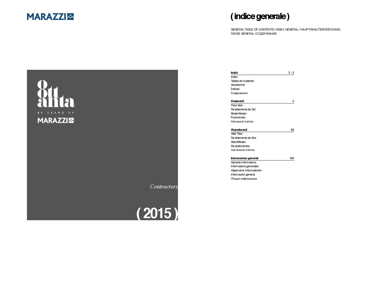 Marazzi catalogo contractors 2015 by iris issuu for Marazzi cotto antico