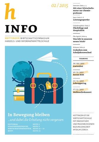 h Info 02/2015 by Kantonsschule Hottingen - issuu
