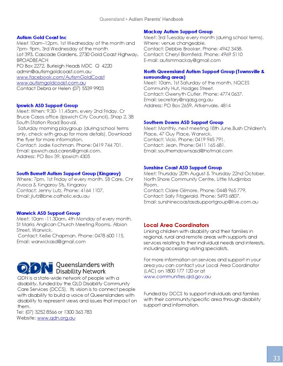 For Parents Of Autistic Kids 22nd >> Queensland Autism Parents Handbook 2015 By Autism World Magazine