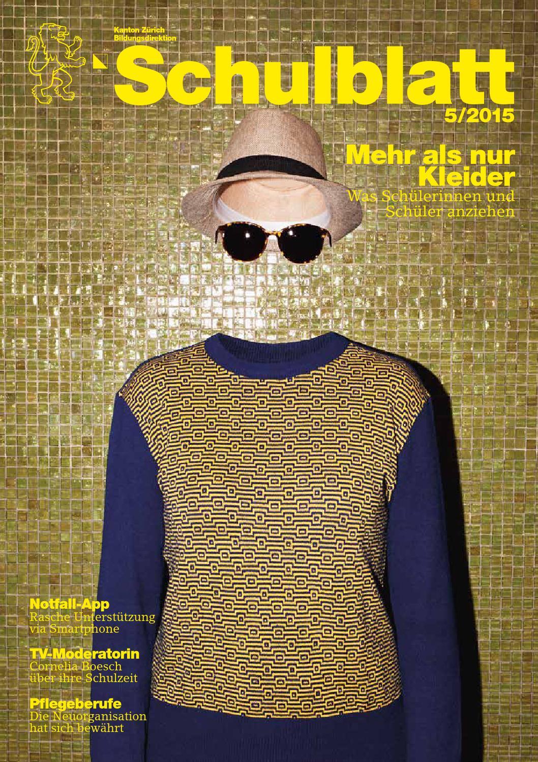 Schulblatt 5 2015 By Schulblatt Kanton Zürich   Issuu