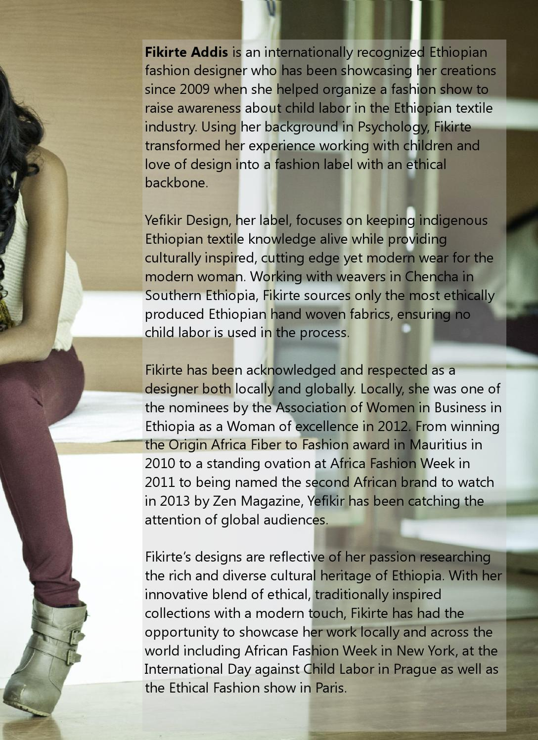 Fashion Issue 2015 by Afroelle Magazine - issuu