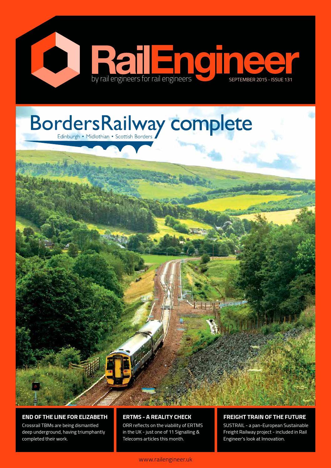 76f1eaa054 Rail Engineer - Issue 131 - September 2015 by Rail Media - issuu