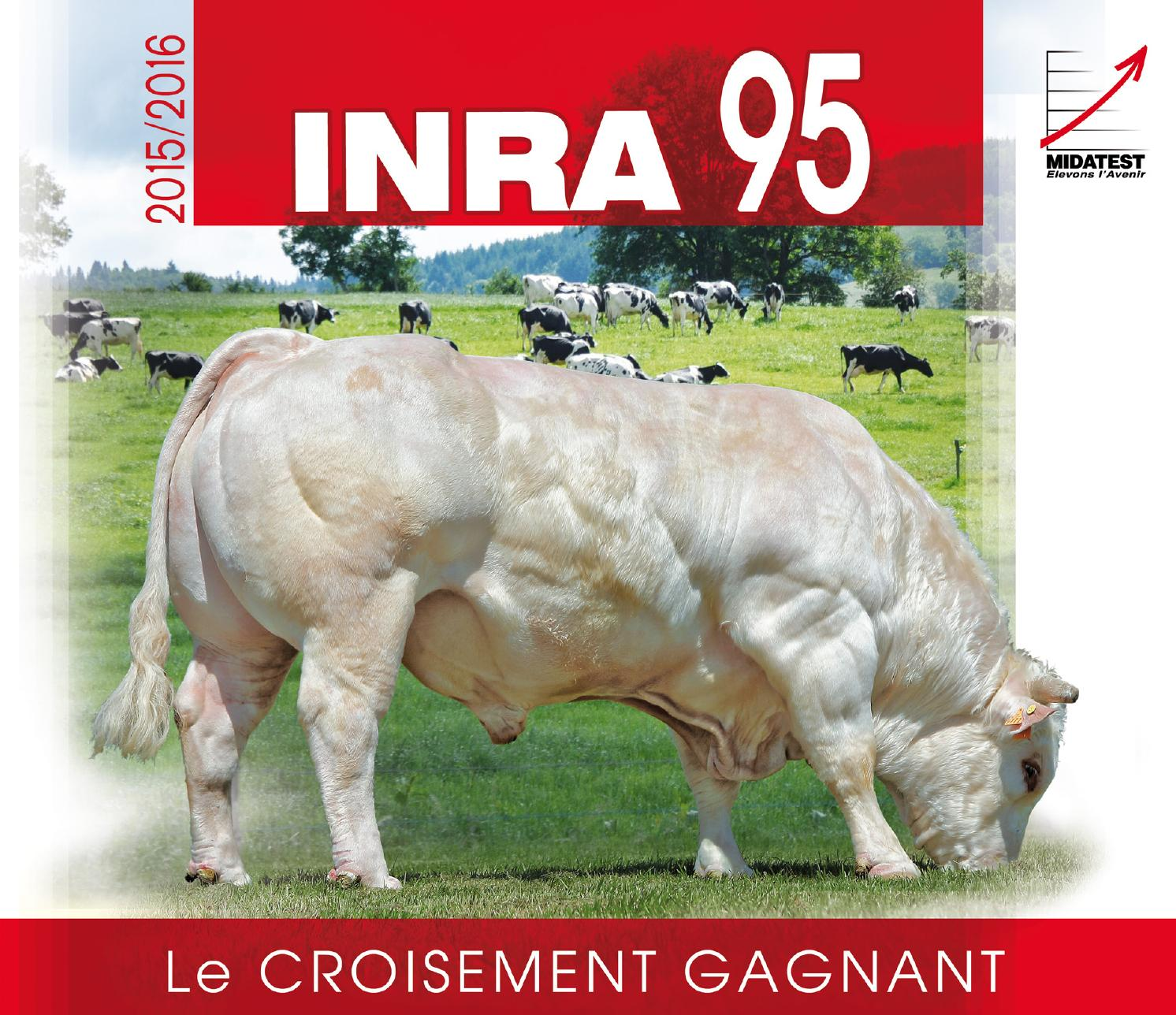 Catalogue INRA 95 2015 by AURIVA-Elevage
