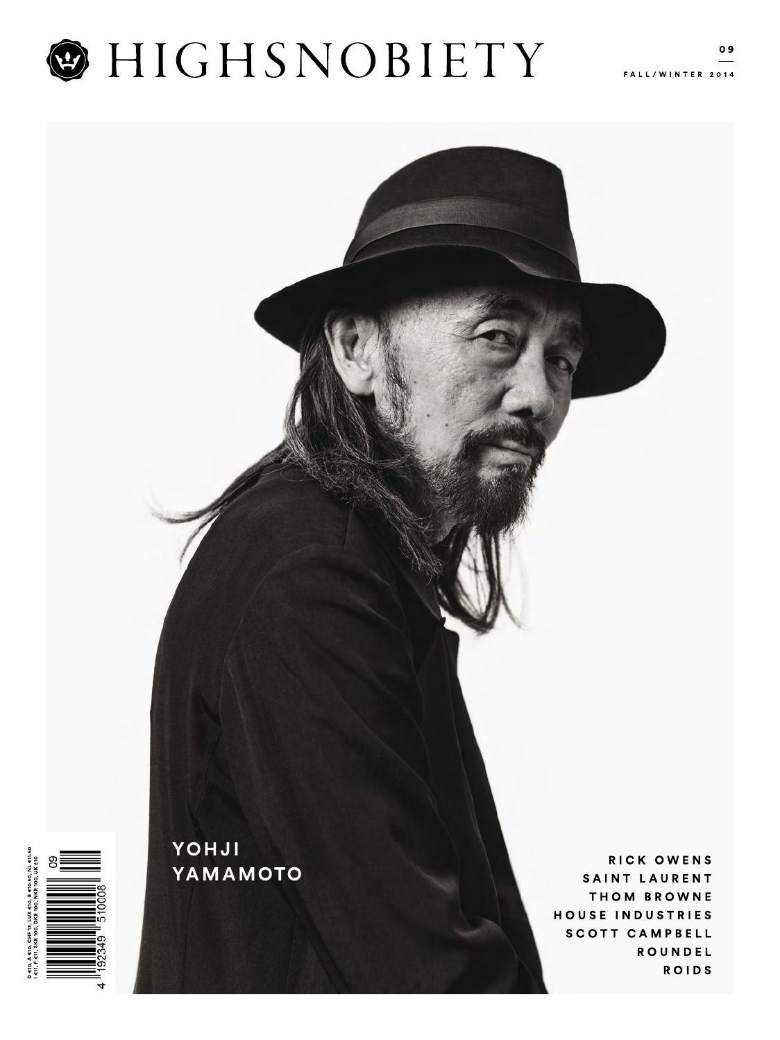 quality design 35516 6c97f Highsnobiety Magazine 09 - Winter 2014 by HIGHSNOBIETY - issuu