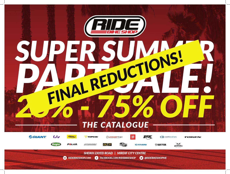 Ride Bike Shop Super Summer Part Sale By Issuu Giant Anthem X Adv 29er 1 Wht Blk Red S 2013