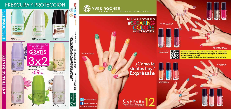 Catálogo Yves Rocher Campaña 12 2015 by yvesrocherdemx - issuu