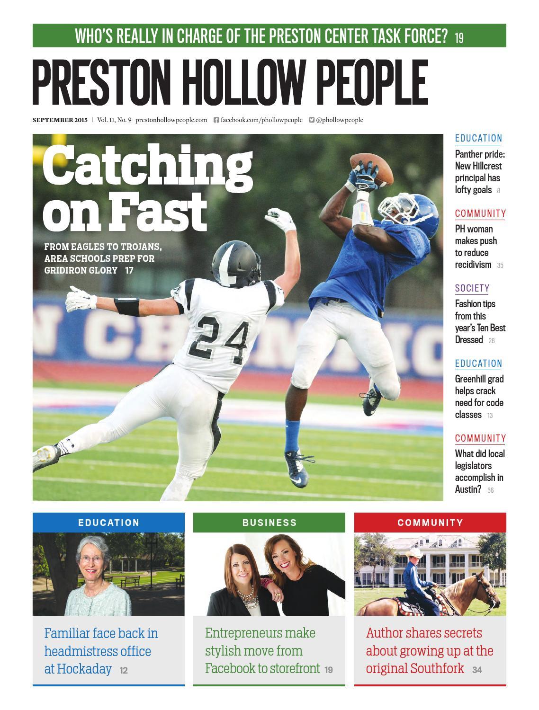 Preston Hollow People – September 2015 by People Newspapers - issuu