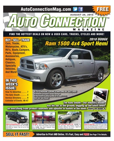 e90c06eea 08-26-15 Auto Connection Magazine by Auto Connection Magazine - issuu