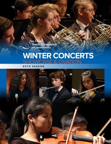 Winter Showcase and Ovation Concerts 2015 by San Diego Youth ...