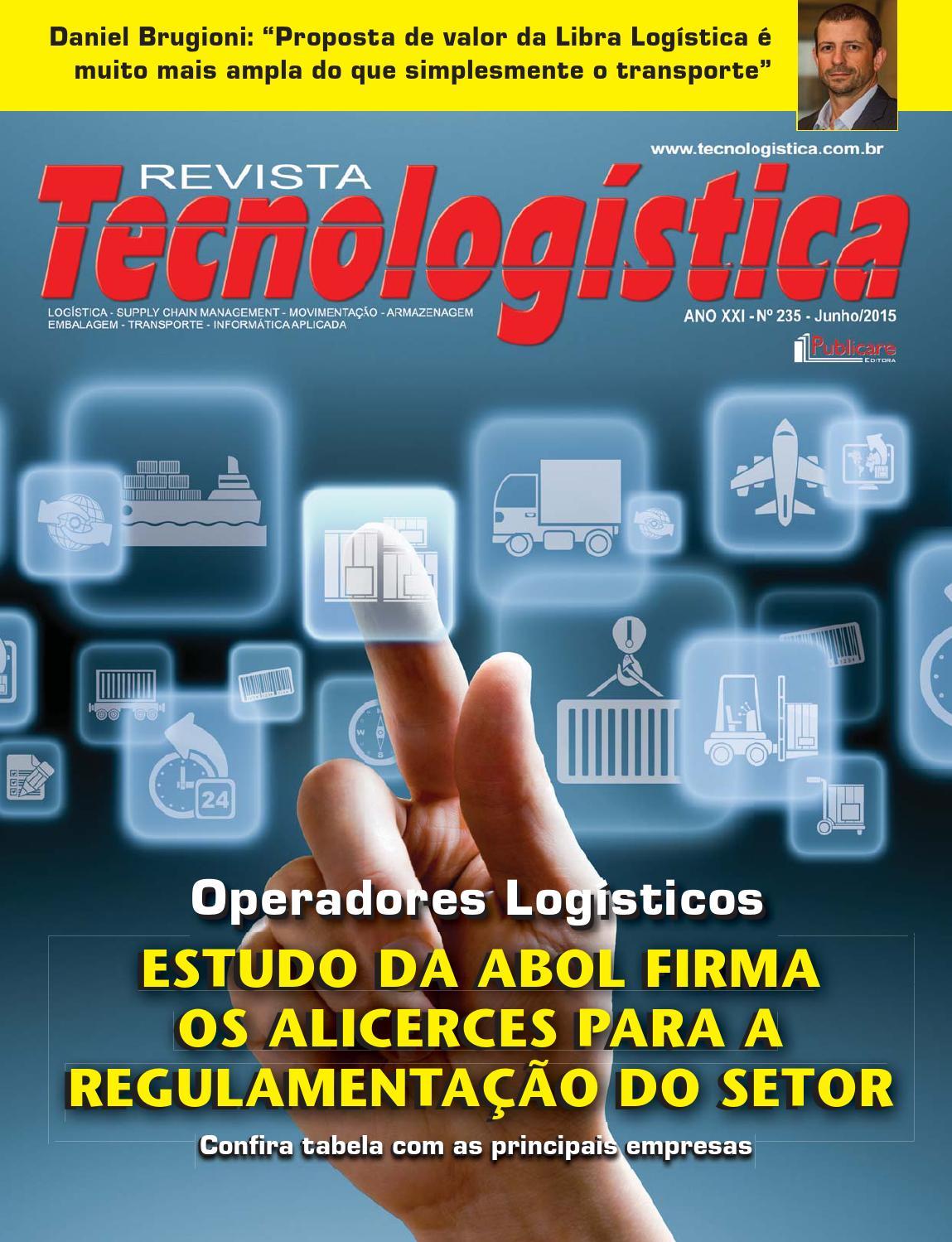 fb7404334 Revista Tecnologística - Ed. 235 junho 2015 by Publicare - issuu