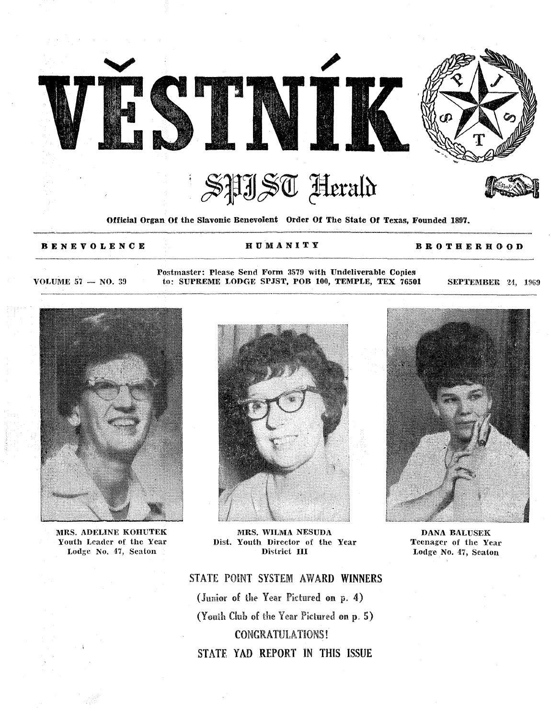 Vestnik 1969 09 24 by SPJST - issuu