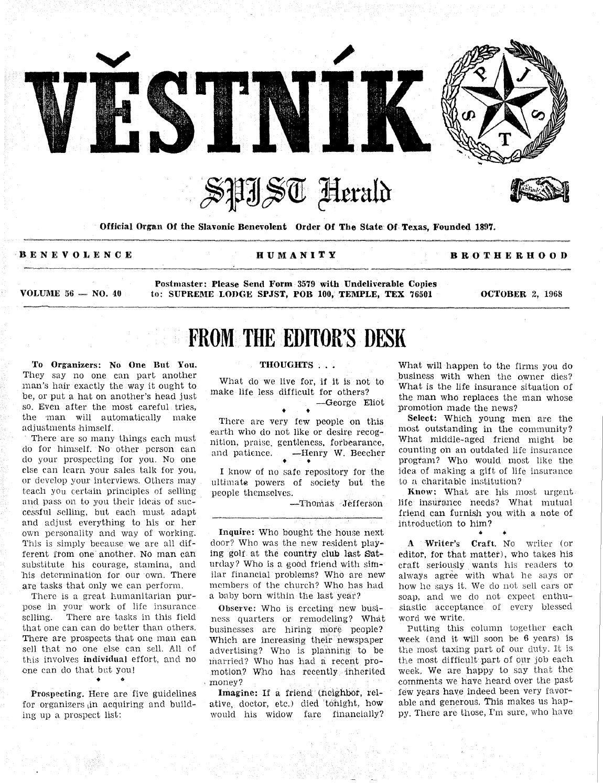 Vestnik 1968 10 02 by SPJST - issuu