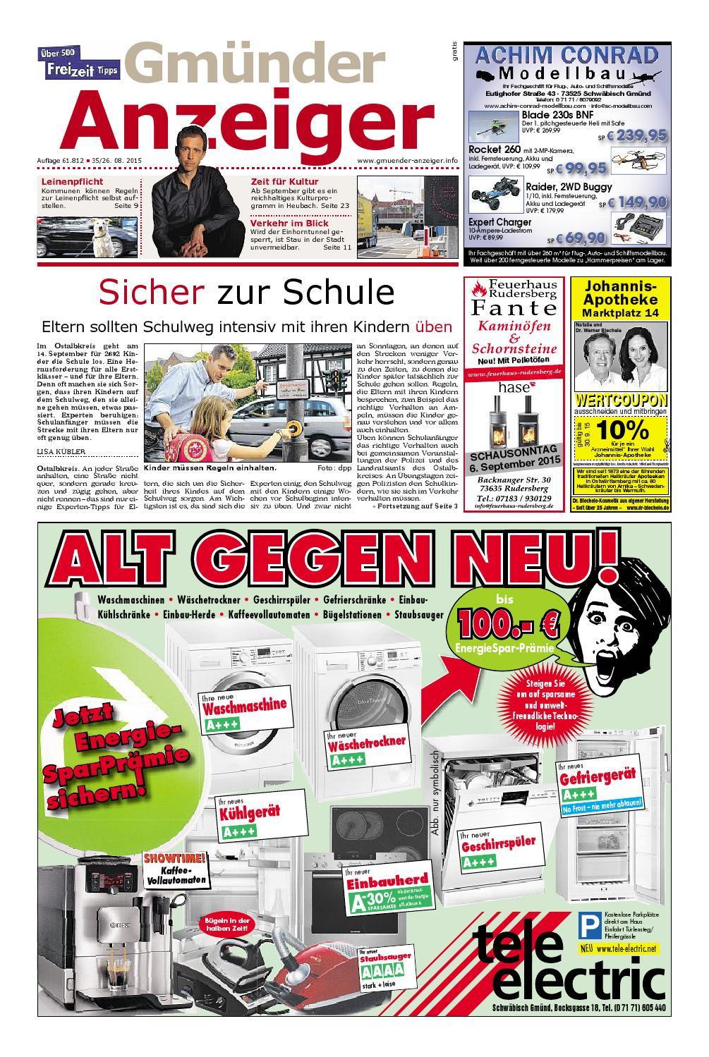 Der Gmünder Anzeiger KW 35 By Wolfram Daur Issuu