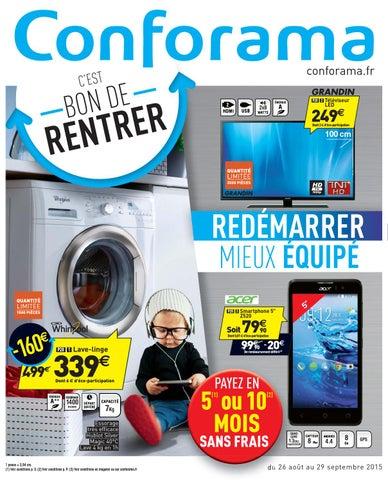 Conforama Catalogue 26aout 29septembre2015 By