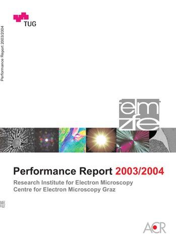 Institutsbericht 2003-2004 by FELMI-ZFE - issuu