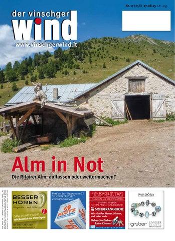 Zeitung Vinschgerwind ausgabe 17-15 Vinschgau Südtirol by ...