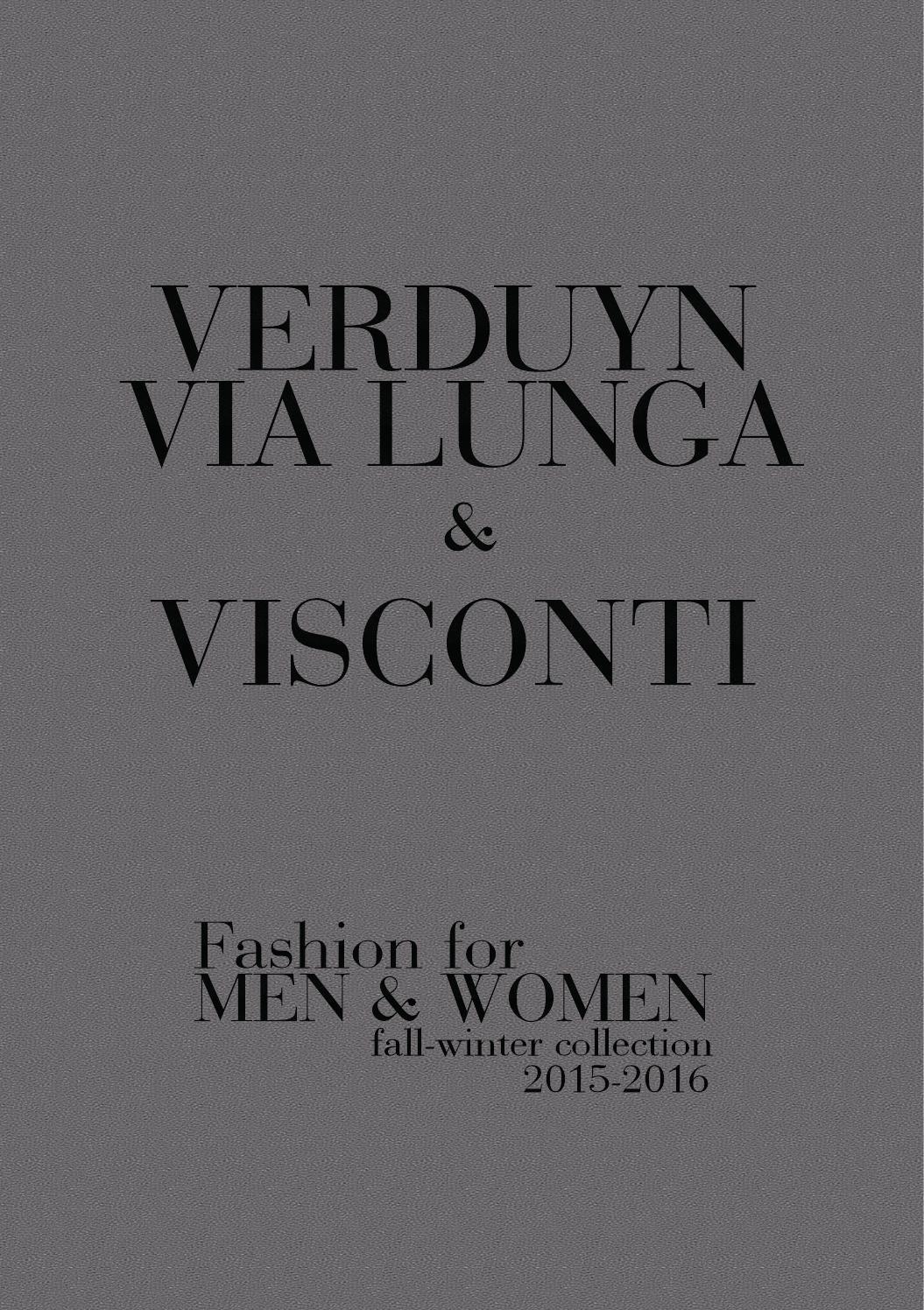 Visconti&verduyn fall winter 2015 2016 by Schoenen Verduyn