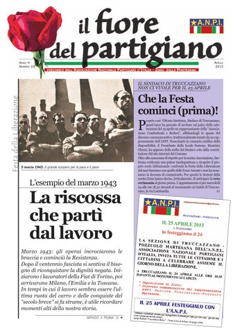 064c326b2 Il Fiore del Partigiano - aprile 2013 by Rocco Ornaghi - issuu
