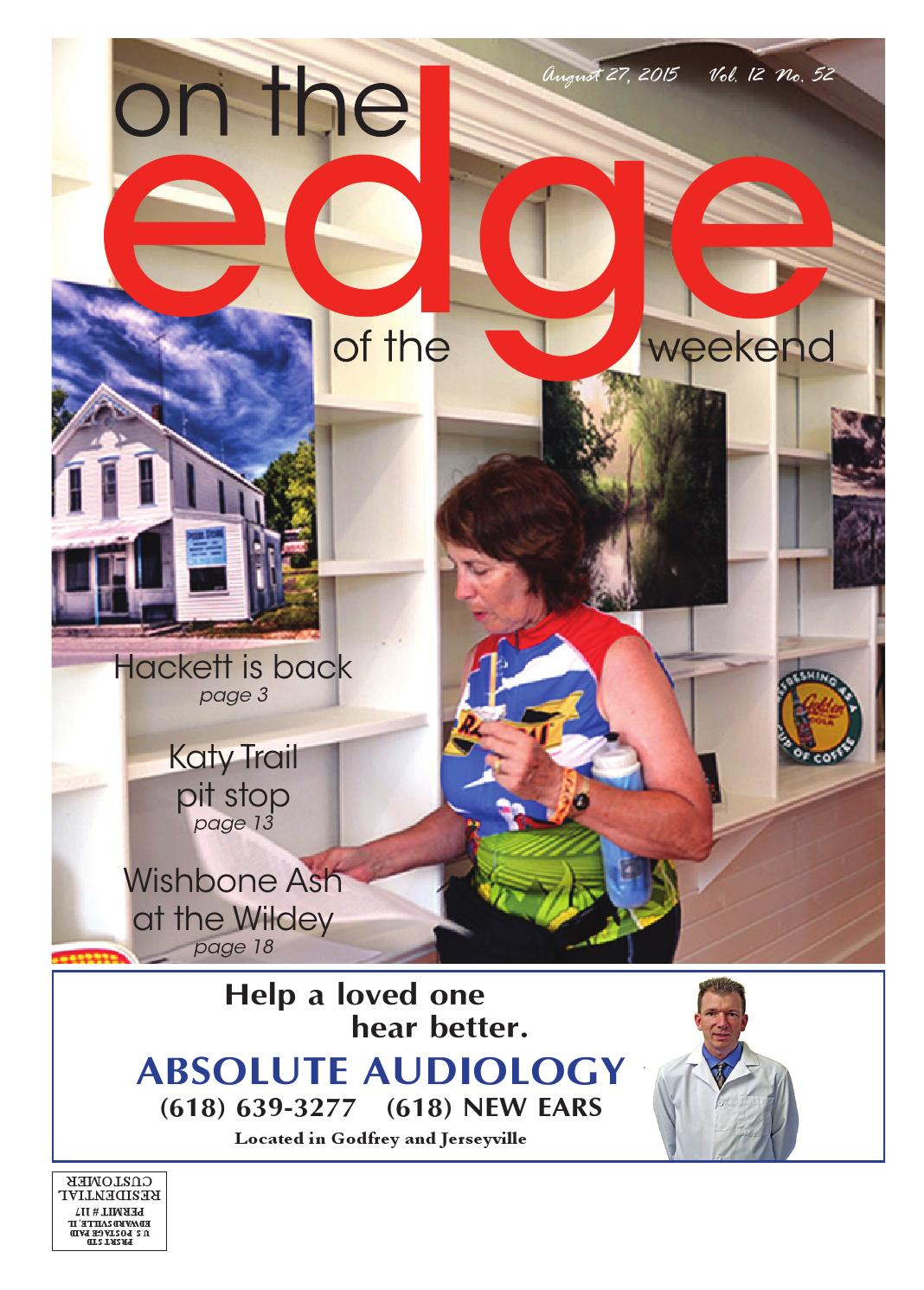 082715 Edge of the Weekend by EDWARDSVILLE PUBLISHING - Issuu