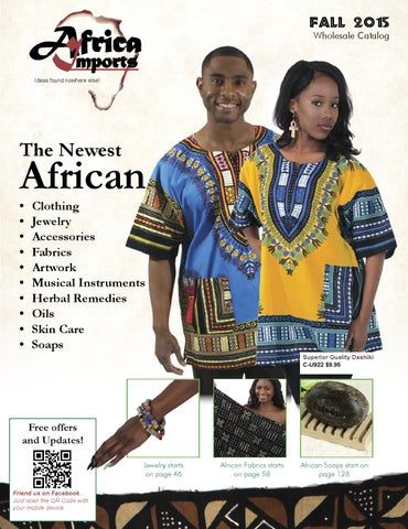 e1b98799f0 2015 Fall Wholesale Catalog by Africa Imports - issuu