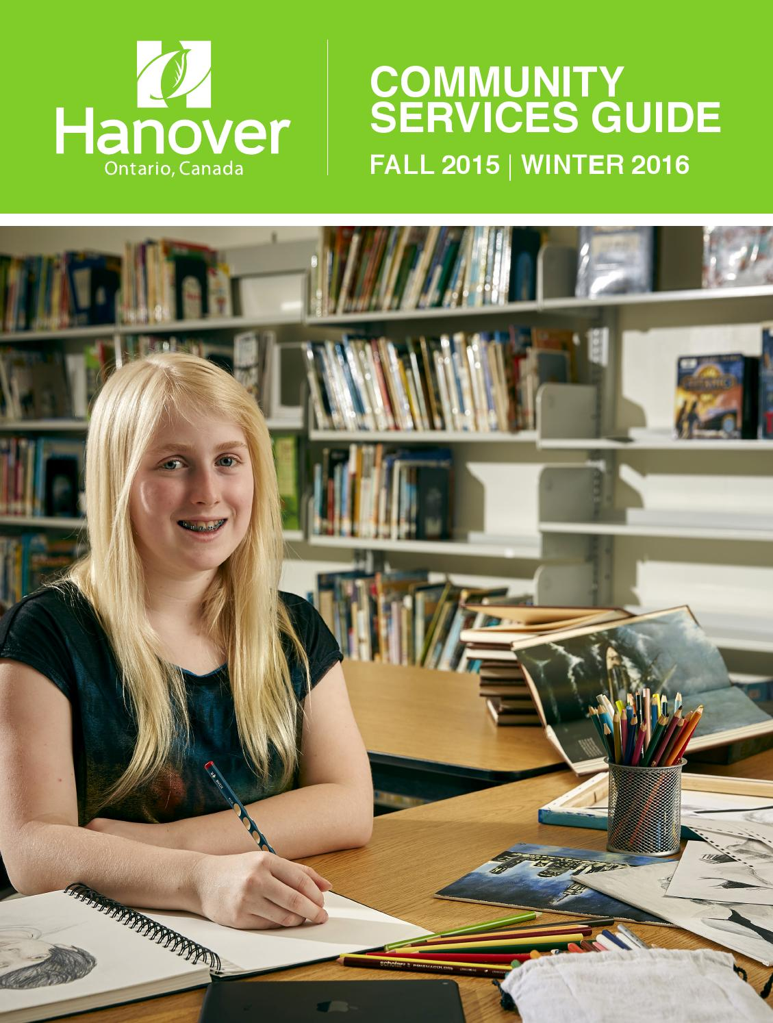 Community Services Guide By Town Of Hanover Issuu