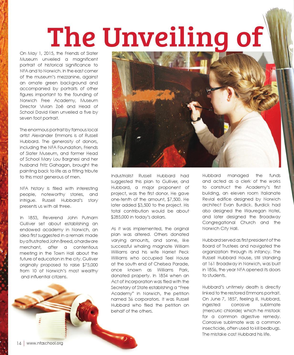 NFA magazine_2 by Norwich Free Academy - issuu