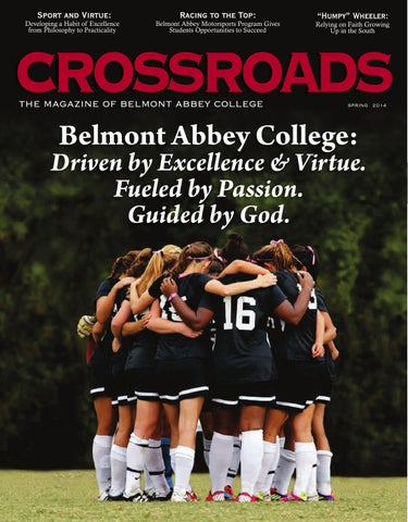 Crossroads Spring 2014 by Belmont Abbey College - issuu 63c3ff329
