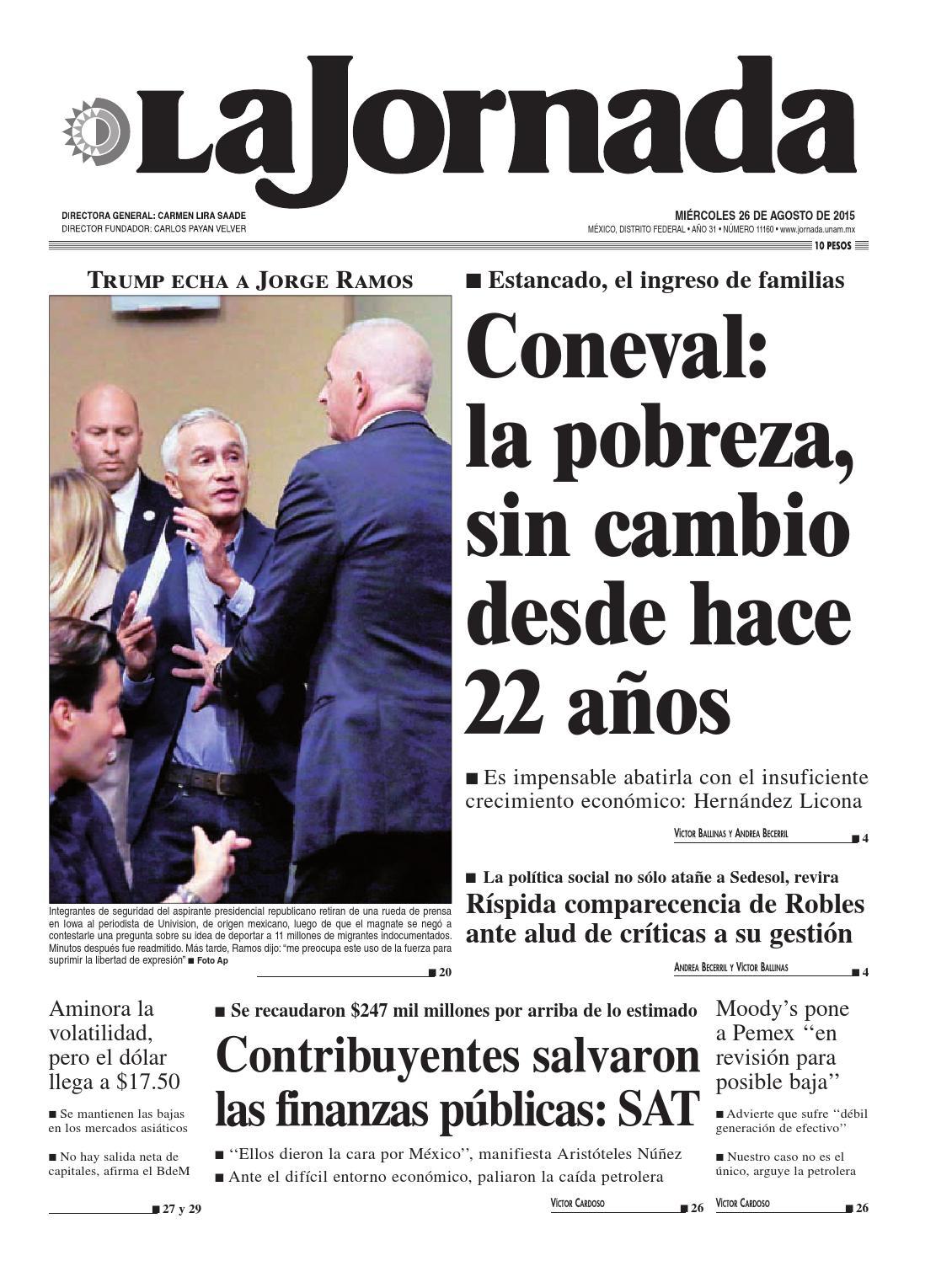 La Jornada 08262015 By La Jornada Issuu