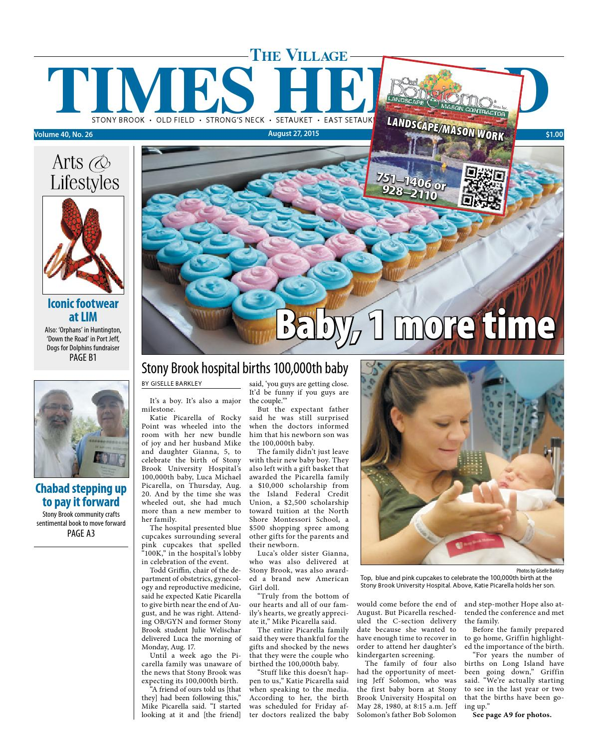 51311c8eb2 The Village Times Herald - August 27, 2015 by TBR News Media - issuu