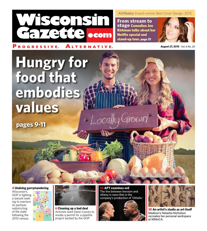 Wisconsin gazette august 27 2015 by wisconsin gazette issuu fandeluxe Choice Image