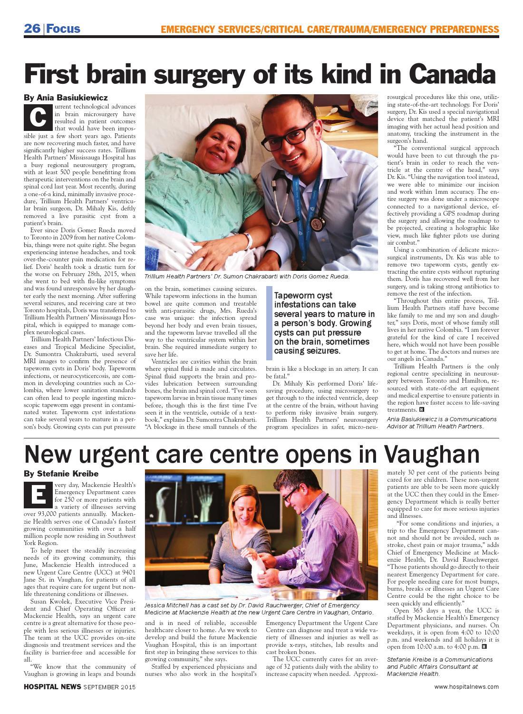 Hospital News 2015 September Edition by Hospital News - issuu