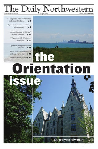 6d1ea84f183 The Daily Northwestern — Orientation Issue 2015 by The Daily ...