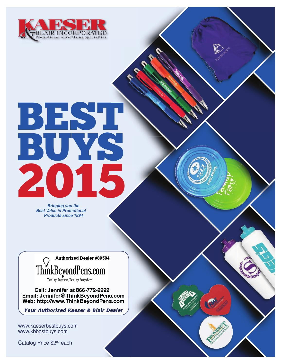 Kaeser and Blair Best Buys Catalog 2015 Promotional Products by Promo Items - issuu