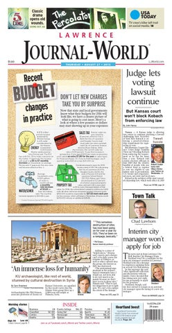 09490c3e077a15 Lawrence Journal-World 08-27-2015 by Lawrence Journal-World - issuu